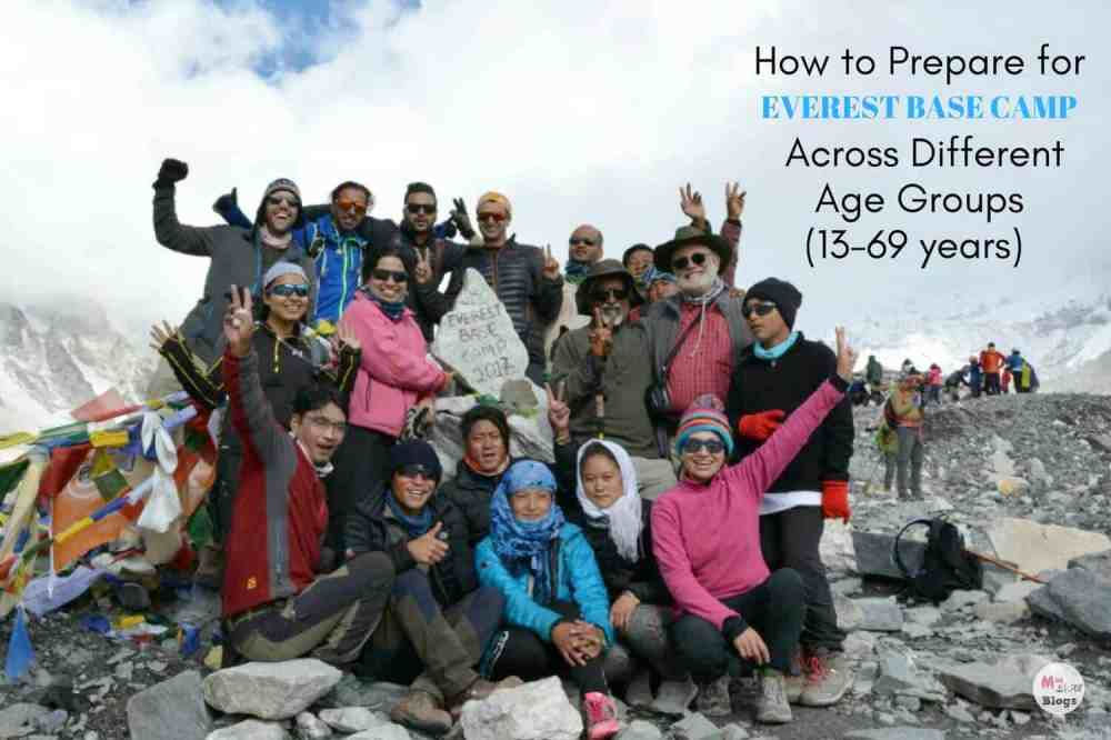 How to Prepare for Everest Base Camp Across Different Age Groups