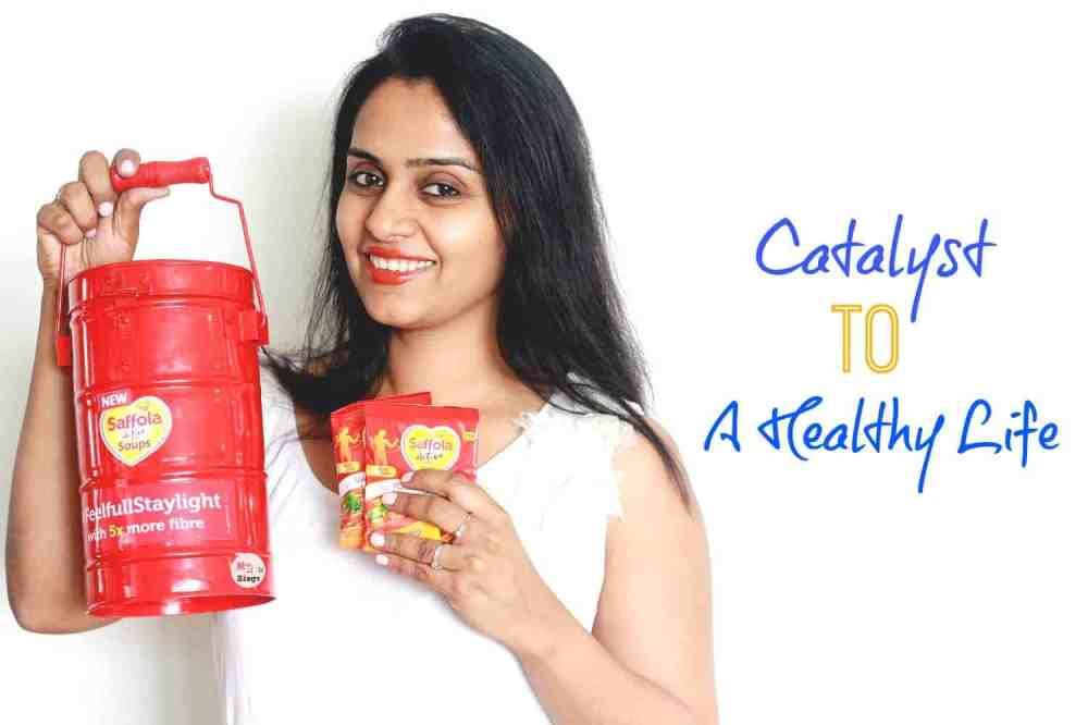 Catalyst To A Healthy Life: #FeelFullStayLight With Saffola Soups