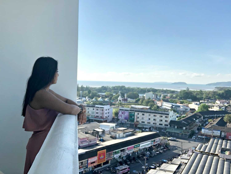 View from my room at Novotel Phuket Photokeethra