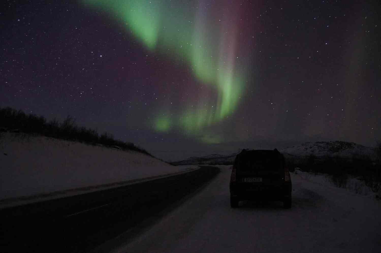 Northern lights Abisko