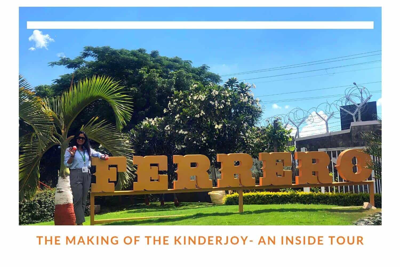 The Making Of Kinder Joy - An Inside Tour