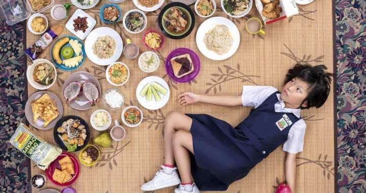 Wat eten kinderen over de wereld zoal per week?