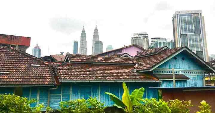 Op de fiets door authentiek Kuala Lumpur