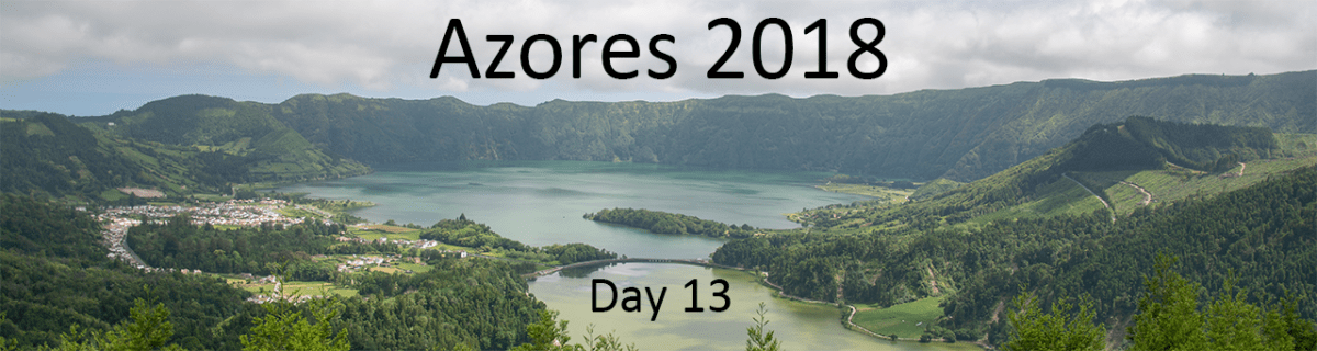 Day 13: Revisiting Sete Cidades