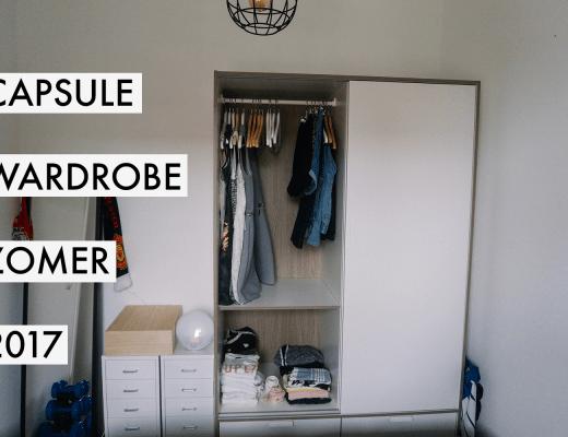Capsule Wardrobe Zomer 2017