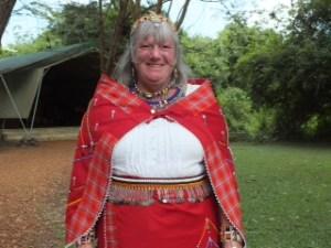 Sue Miller's Kenya Sarafi