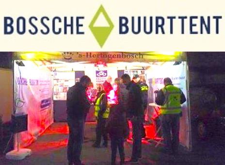 Na recente inbraken staat de Bossche Buurttent in Maaspoort
