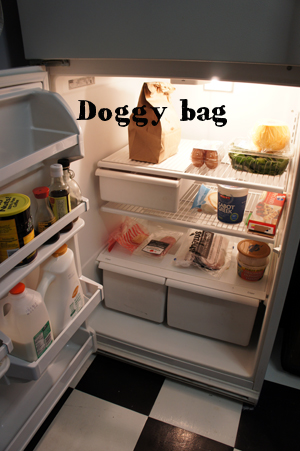 Doggy Bag in my fridge