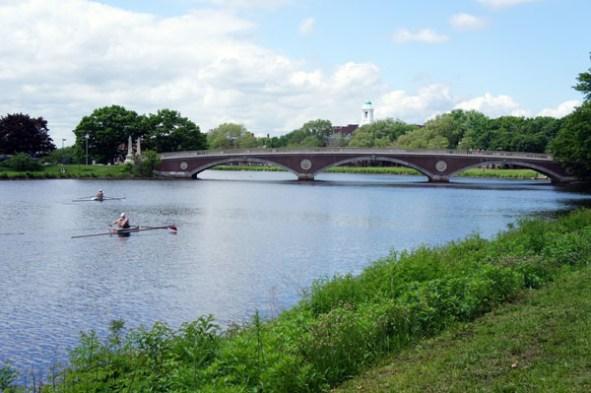 Aviron sur la Charles River