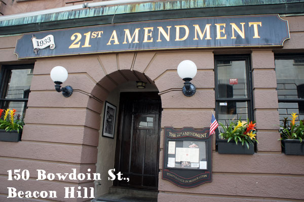 21st Amendement Beacon Hill