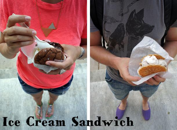 Ice cream sandwiches - Frozen Hoagis