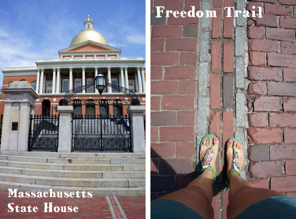 Mass State House Freedom TRail