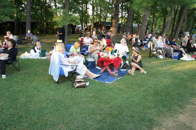 Festival Tanglewood repas d'été