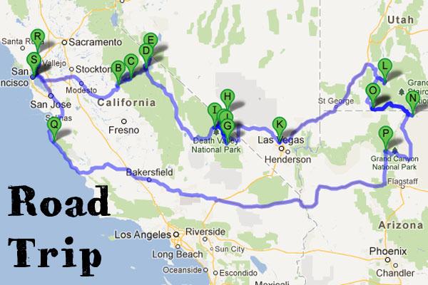 Road trip on the Wesst Coast - maathiildee.com