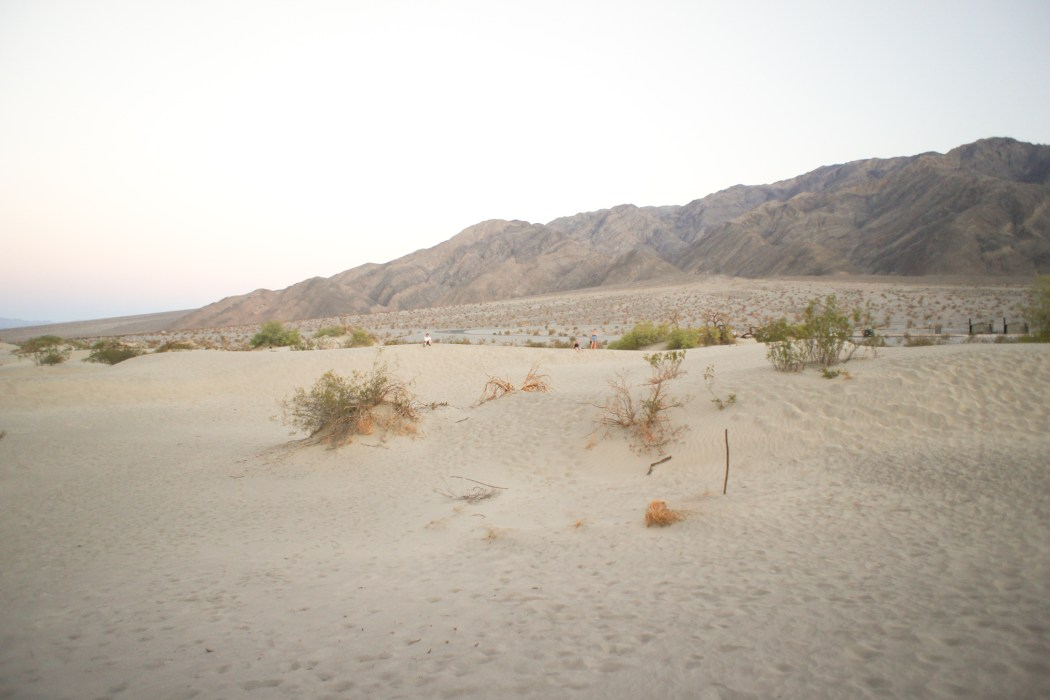 dunes de sable vallée de la mort