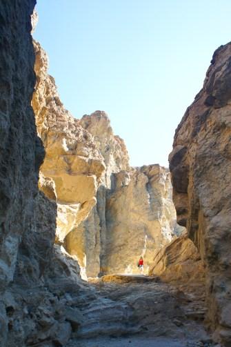 Golden Canyon Death Valley Californie