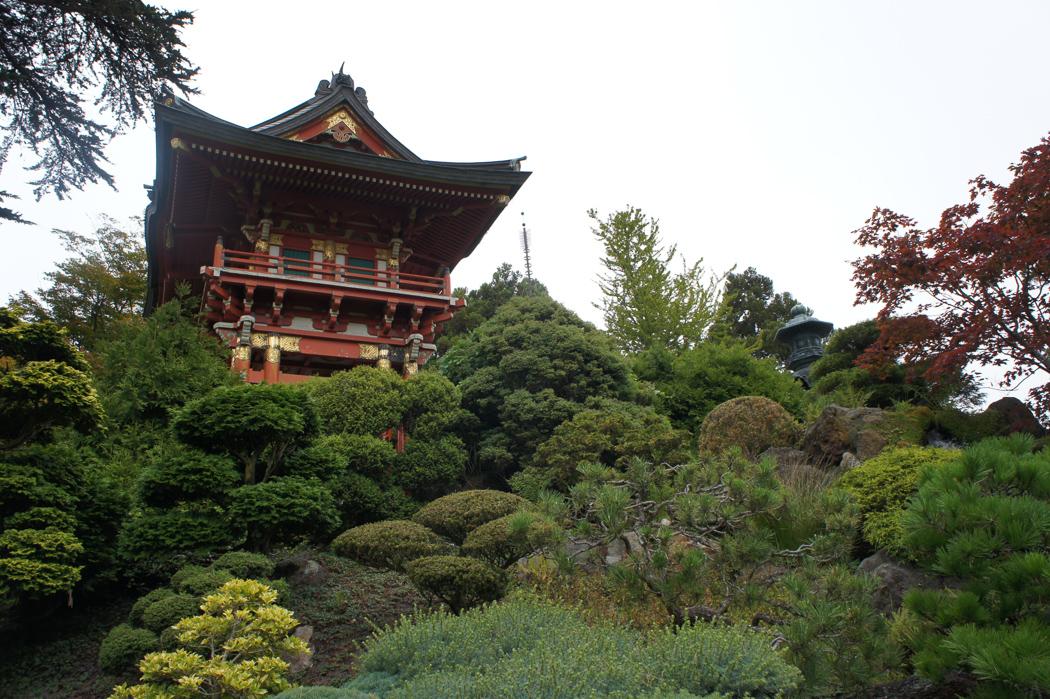 San Francisco USA jardin japonais