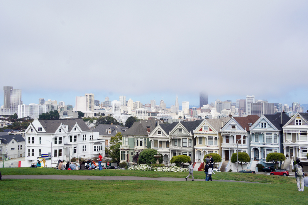 San Francisco USA maisons painted ladies