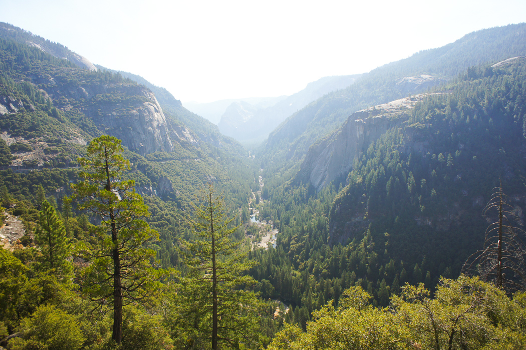 yosemite valley californie