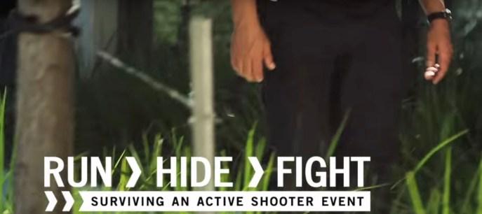 Run Fight Hide