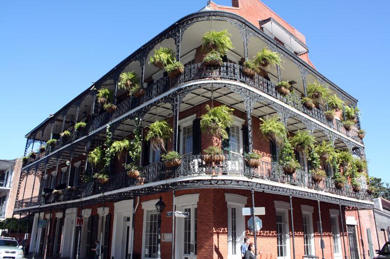 Superbe maison, rue Royale, New Orleans