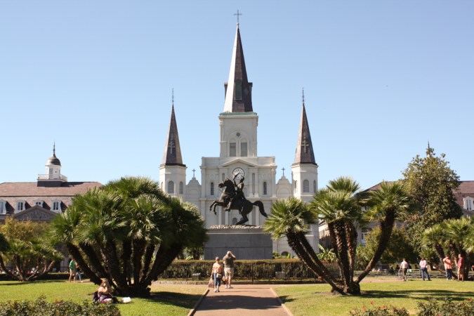 New Orleans- cathedrale St Louis