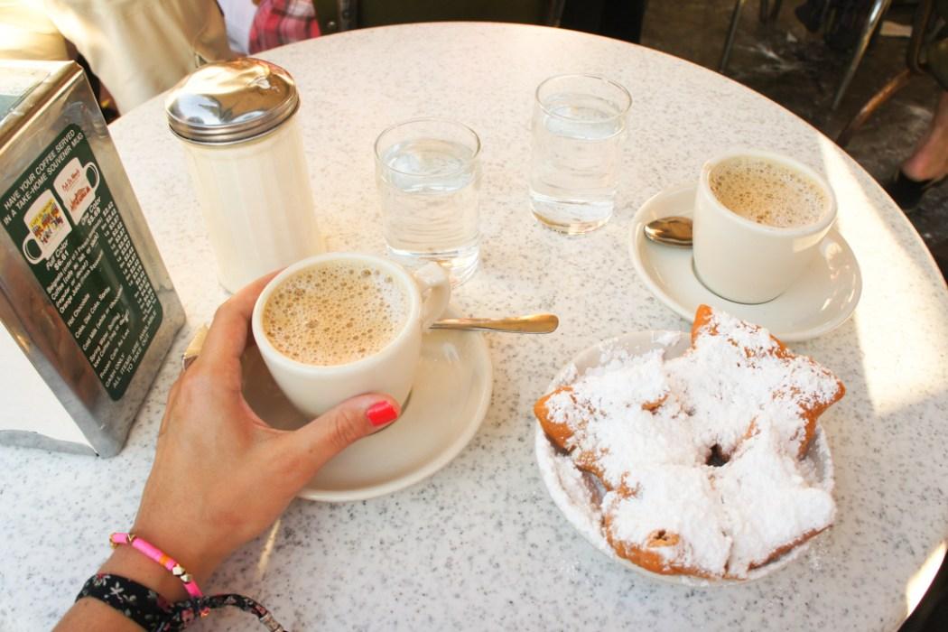 Beignets de Cafe du Monde Nouvelle Orléans