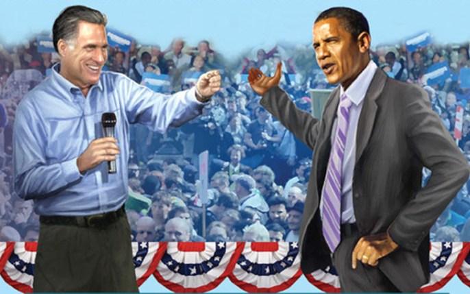 Obama et Romney