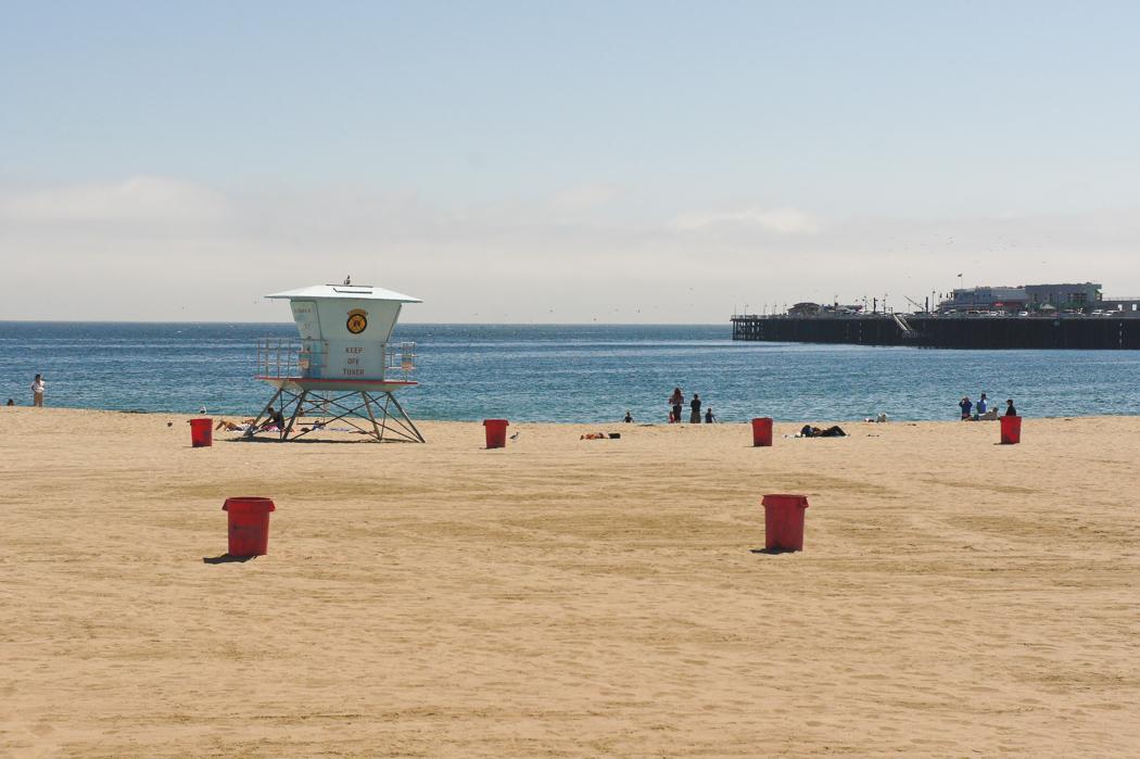 Santa Cruz la plage