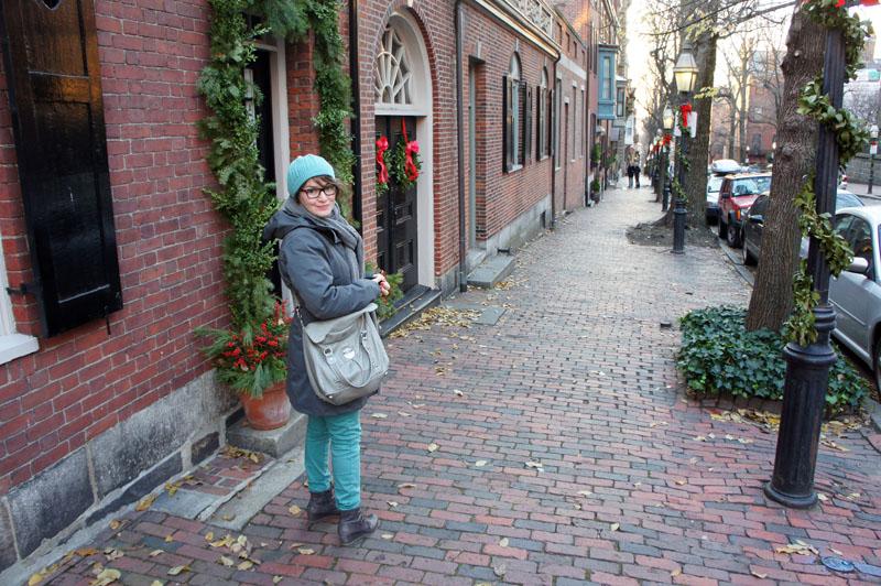 L'hiver à Boston, mais il fait pas si froid que ça en décembre