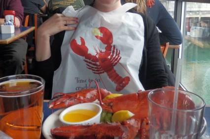 Serviette à homard