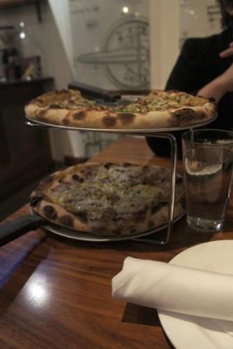 Aera 4 Cambridge, Pizza