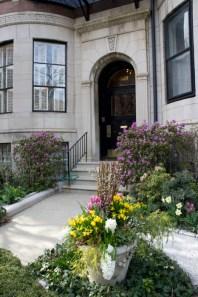 DEvant de maison jolie printemps Boston