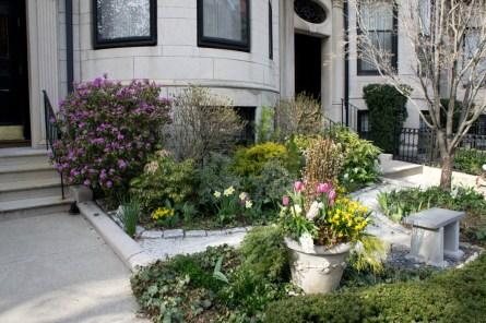 DEvant de maison jolie printemps Boston 1
