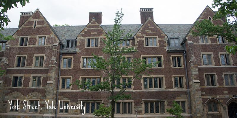 Yale University New Haven York Street
