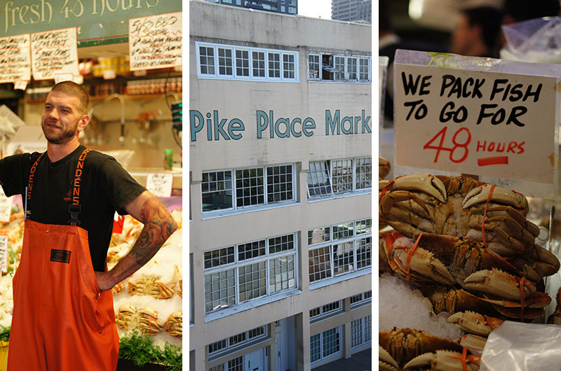 Le marché de Seattle - stands 1