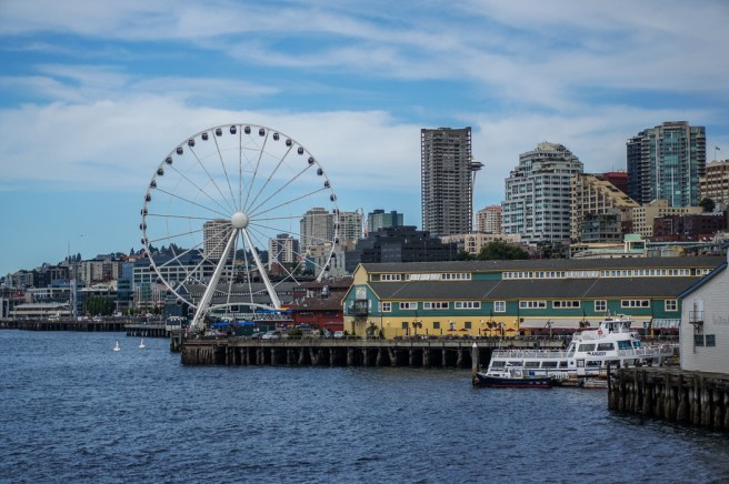 Seattle Washington grande roue