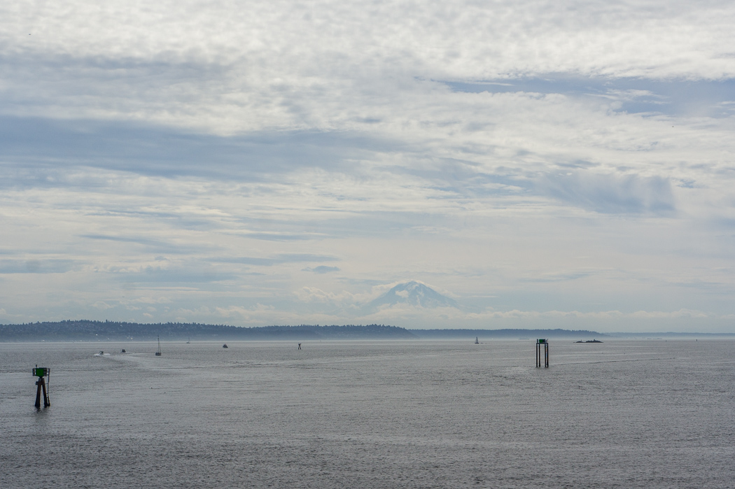 Seattle Washington Mt Rainier