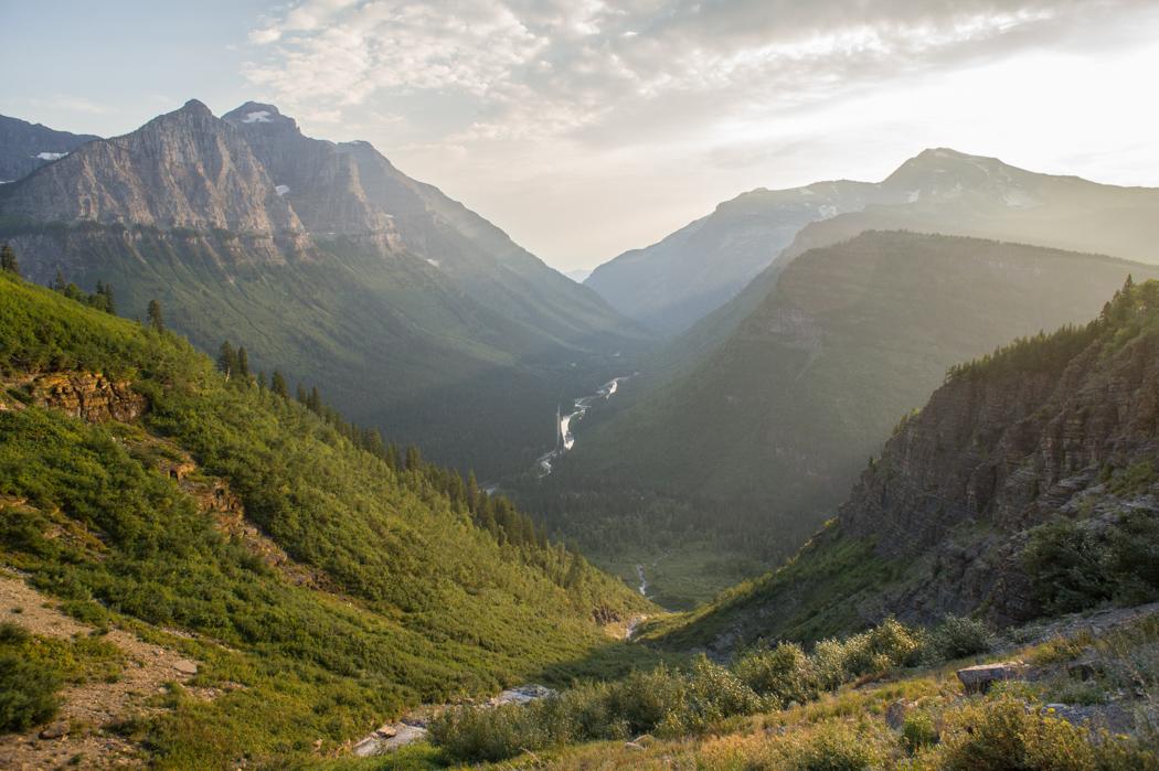 Glacier National Park - randonner dans le parc national du Montana