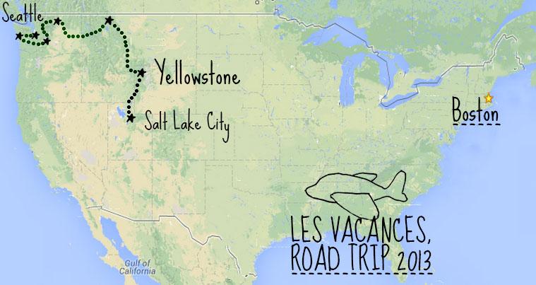 Road trip nord ouest américain