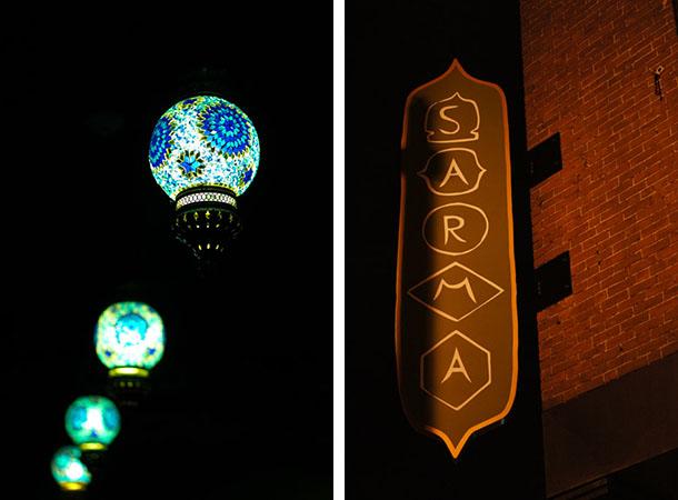 sarma, somerville lampes et panneau