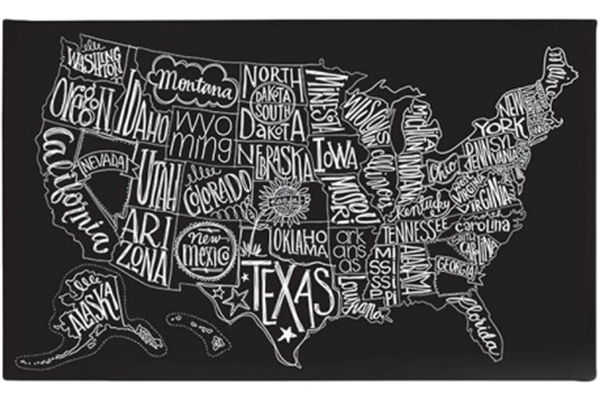 US map - Black Tie - littlepixielily