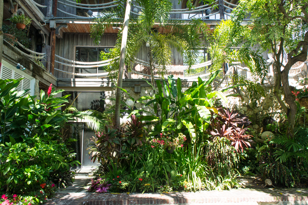 Maison remarquable Key West - Floride - Pelican Poop Shop - garden