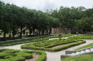 Villa Vizcaya - Coconut Grove - Miami -Floride - jardins à la française