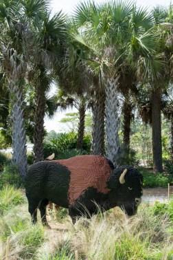 Bison lego - Naples Botanical garden - Floride