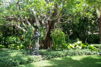 Statue Venise - The Society of the Four Arts - Palm Beach - Florida
