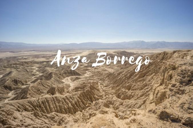 Anza Borrego Californie