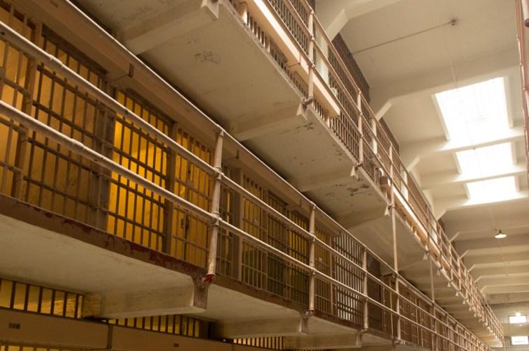 Cellule de la prison d'Alcatraz - Un couloir - San Francisco