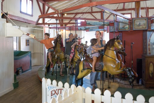 Flying Horses - Oak Bluff - Manège - Martha's Vineyard -