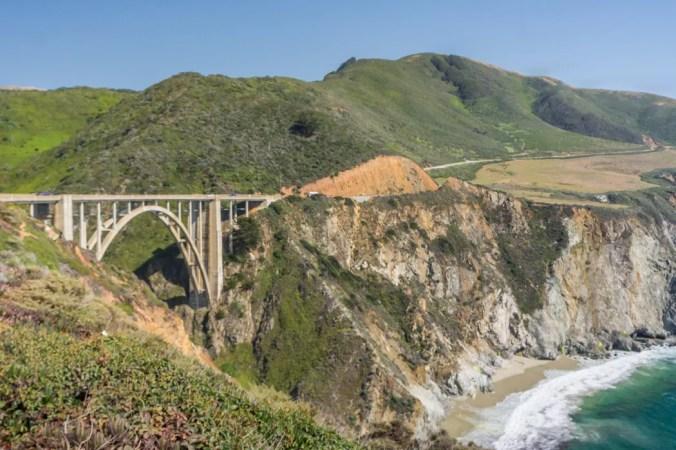 Big sur Californie Route 1 road trip superbe pont